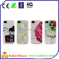 High quality stand design hybrid PC+Silicone phone case for samsung galaxy S5 i9600