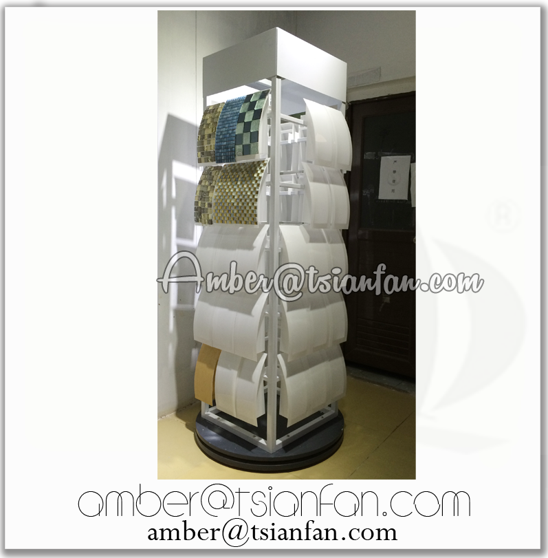 Rotating Mosaic Display Stand / Sample Mosaic Display Stand - Tsianfan MM022