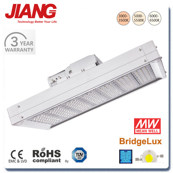 LED Luz De Calle Street Light With Meanwell LED Driver 3 Years Warranty CE ROHS TUV IP65 Certified
