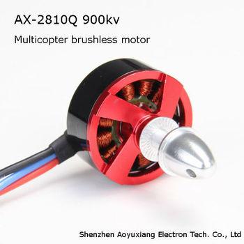 Rc Brushless Motor Ax 2810q 750 900kv 65g For Multicopter