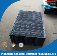 cooling tower pvc sheet spindle filler/Spindle black pvc square cooling tower fills
