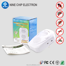 Good effect rat bug housefly pest control device ultrasonic mice repeller