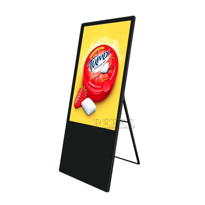 43inch portable advertising lcd <strong>display</strong>,floor stand digital signage