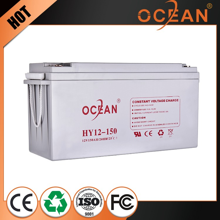 Hot selling elegant reliable quality 12V 150ah VRLA battery price