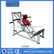 Sport Training Equipment Sled Machine Commercial Fitness Equipment Seated Leg AX8829 Hack Squat