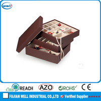 High quality display stackable jewelry trays for store