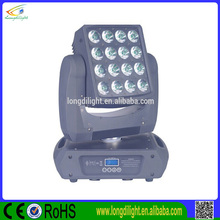 16pcs 12W Quad Led Stage Light / Beam Moving Head /Matrix Beam