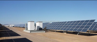 Big solar power station for water pumps in Egypt