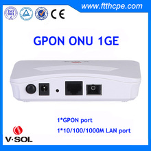V-Slution 1 GE GPON ONU,telecom tools and equipment GEPON ONU