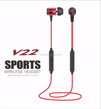 Private label high quality noise cancelling headphones sport magnetic bluetooth earphone neckband