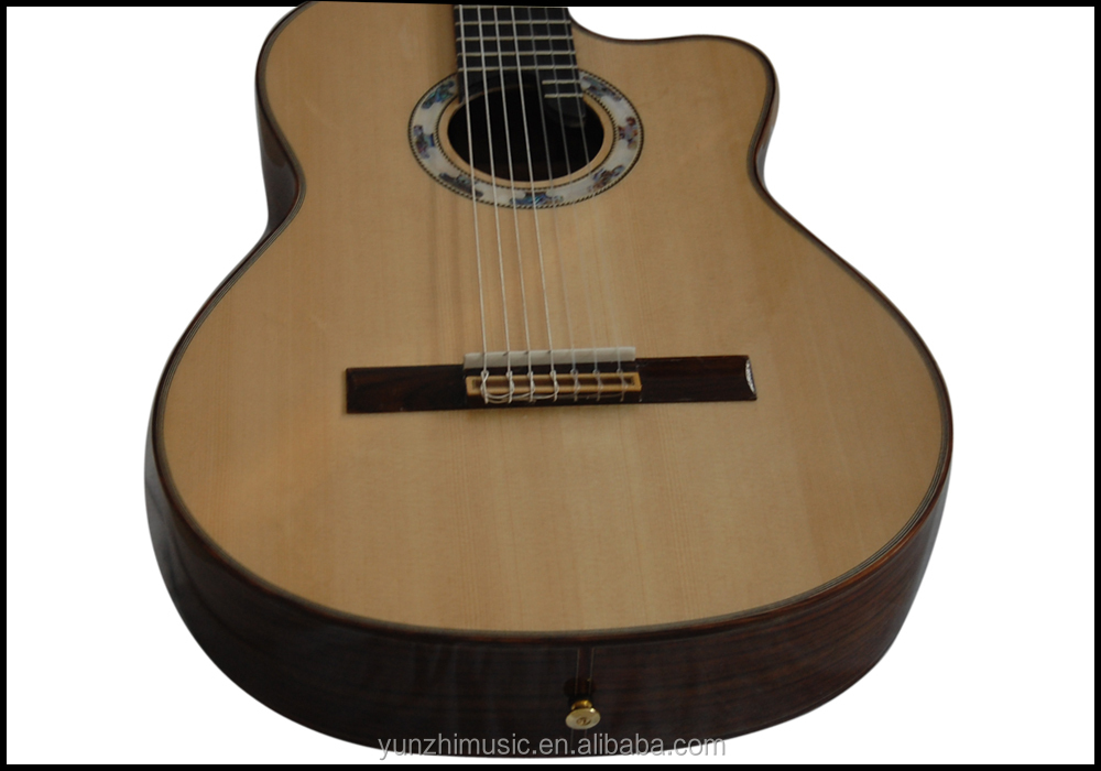 Fully Handmade Rosewood Nylon String Classical Guitar