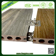 anti-uv and eco-friendly composite decking with color stability