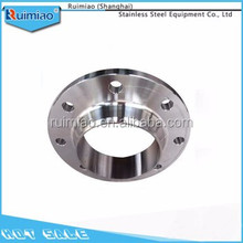 Hot selling stainless steel sanitary butt welding neck flanges