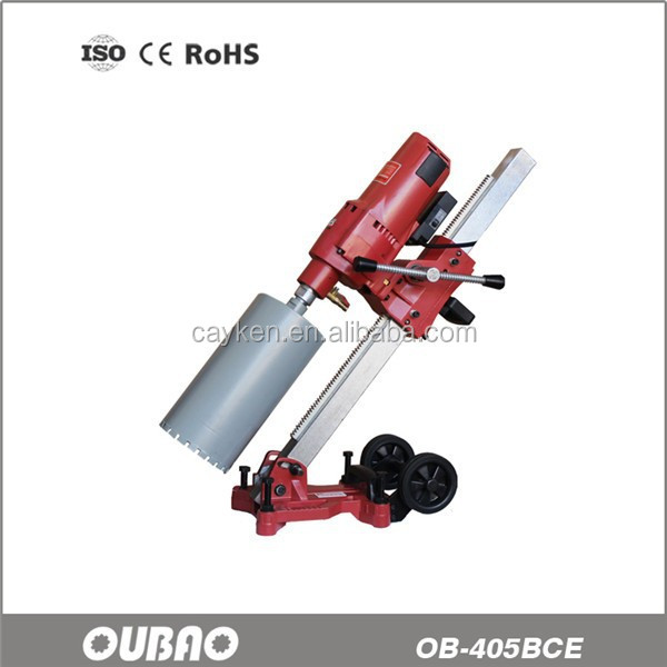 OUBAO Soft Start and Gear Speeder OB-405BCE Drill Using Diamond Tools