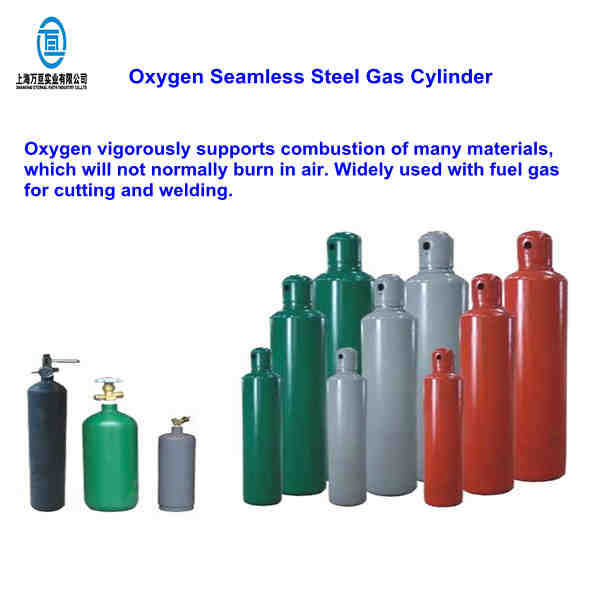 50l Seamless Steel Medical Gas Cylinder With High Purity