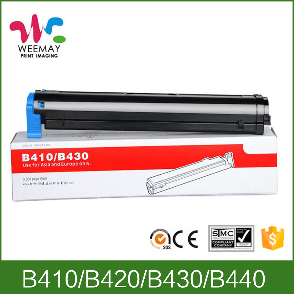New premium toner compatible for OKI B410/420/430/440 toner cartridge