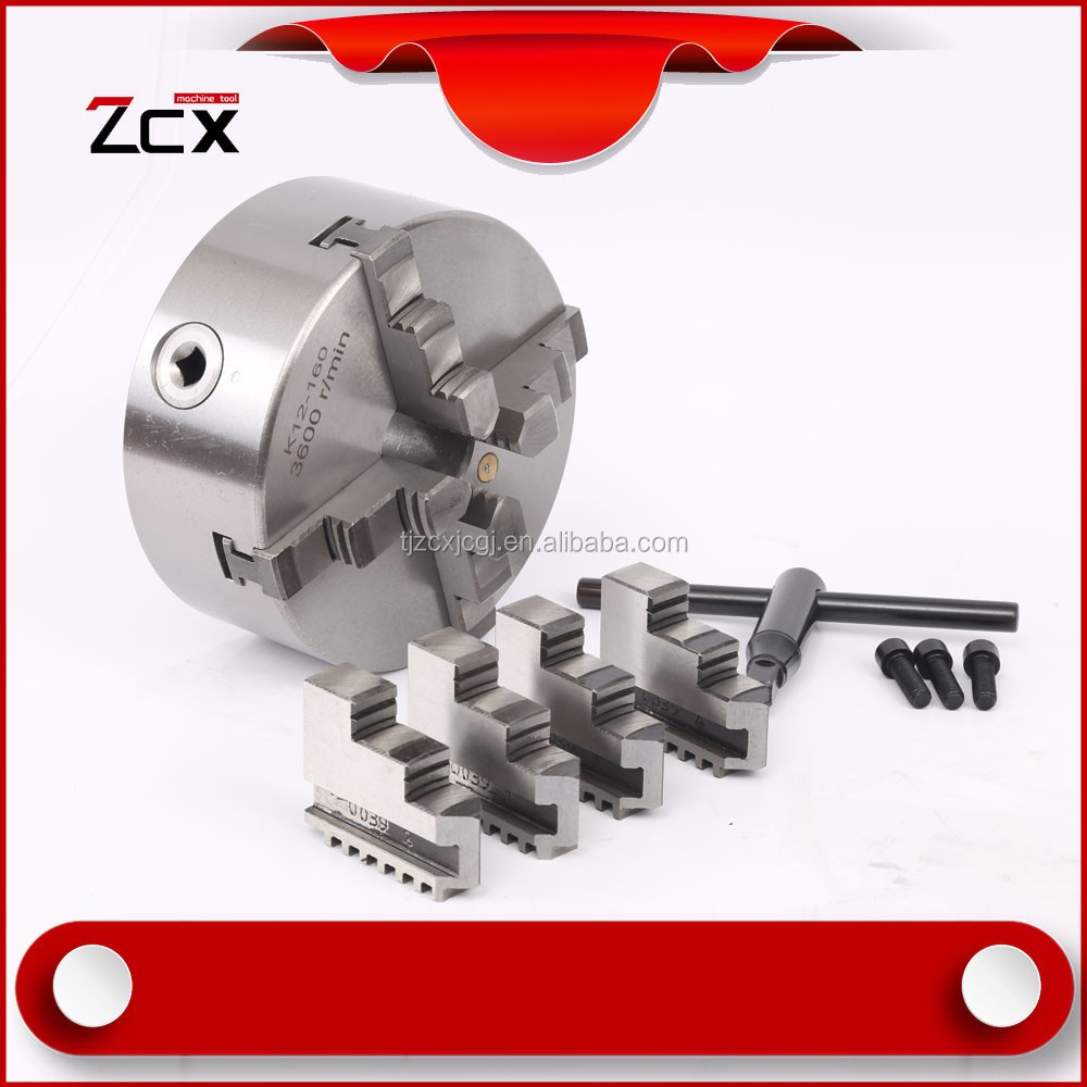 high-quality 4 jaw self-centering lathe chuck 4 jaw chuck
