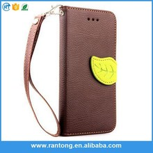 New Arraval guangzhou leather wallet flip cover case for samsung galaxy s4 I9500 case