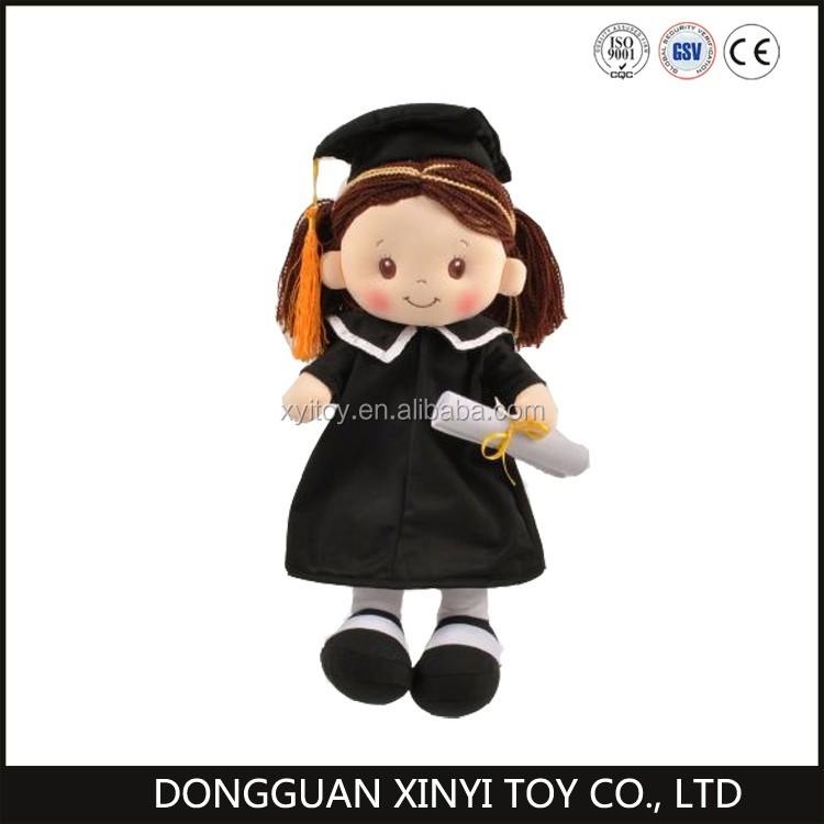 Factory direct wholesale plush cheap rag doll