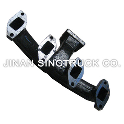 Good Quality Farm Tractor LR4110 Exhaust Manifold Used For LR4M3Z-23 Turbocharger