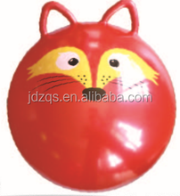 PVC Material Ball Toy Ball with Two Handles/ Cat Ears