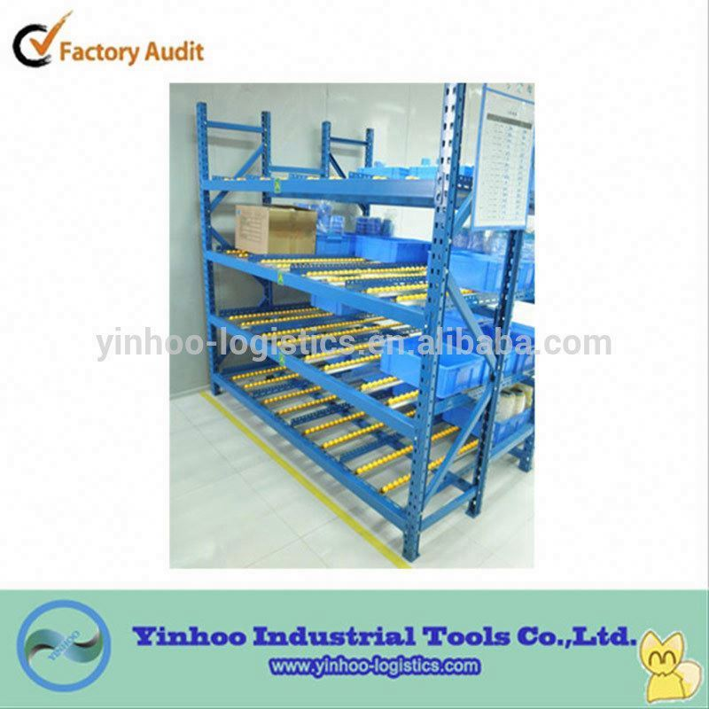 shelving warehouse fluent/flow/rolling racking for tool