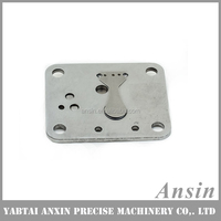 air conditioning compressor valve plate and cylinder block