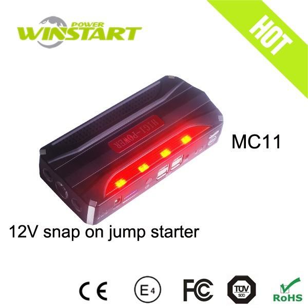 MiCARS jumper starter/ power station snap on jump starter with compressor