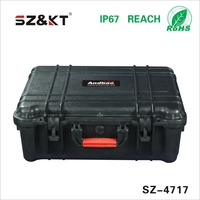 IP67 Waterproof Heavy Duty Plastic Storage Tool Boxes for Camping Trailers