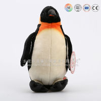 battery operated talking and walking stuffed penguin plush toy