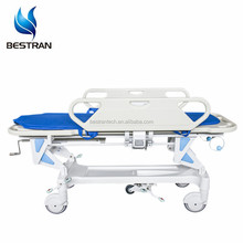 BT-TR002 Hospital abs emergency resuscitation trolley stretcher bed