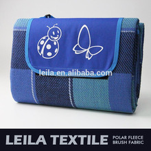 2017 New Products knitting blanket for home travel picnic waterproof folding outdoor blanket picnic