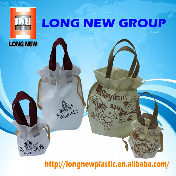 OEM Cosmetic Printing Reusable Non Woven Shopping Tote Bag