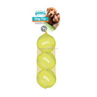 DOG TOY - Squeaky tennisball 6.3cm