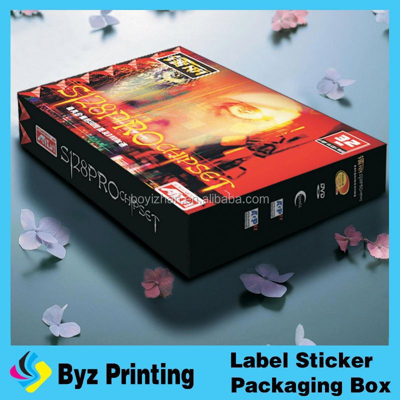Fashion New Design Useful Beautiful Paper Custom Gift Box Small Quantity