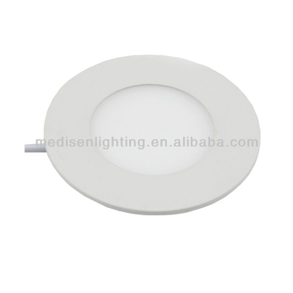 Round/Square Small LED Panel Light 3W to 24W/Flat LED Panel Light Slim LED Panel Light