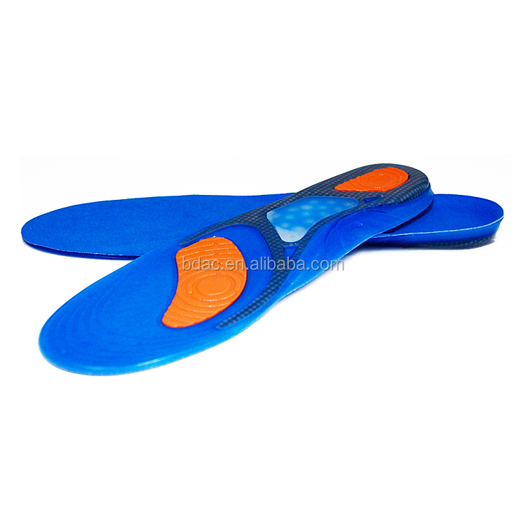PU GEL insole breathable sport insoles