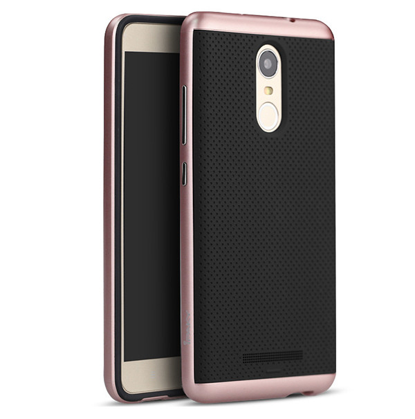 New PC bumper soft back mobile cover case for xiaomi redmi note 2 3 pro