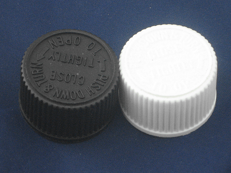 20-410 Non Dispensing lid Child resistant <strong>caps</strong> 10pc/pack