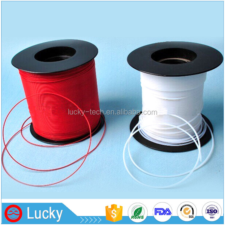 AW20 ultra thin thickness solvent resistance flexible soft Teflon PTFE tubing spaghetti capillary