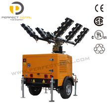 2400W LED MOBILE DIESEL ELECTRIC LIGHT TOWER