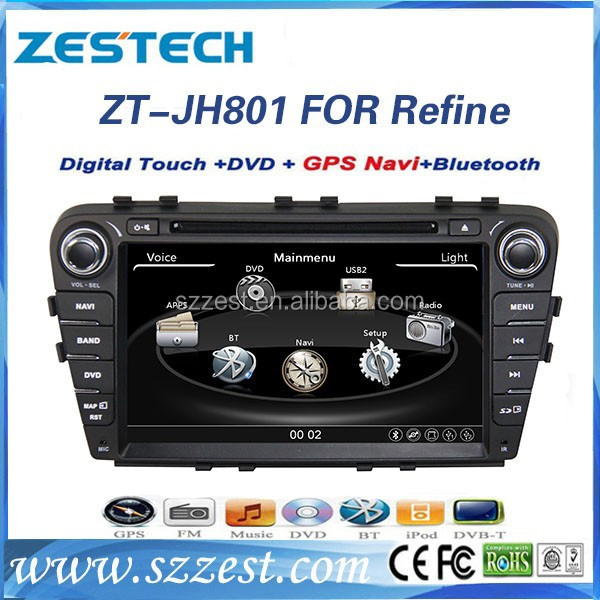 ZESTECH original car sat nav For JAC Refine S5 head unit car gps navigation interface