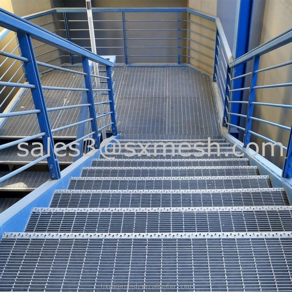 Expanded Metal Mesh Series drainage cover steel grating / smooth surface steel grating / Heavy Duty Seel Grating