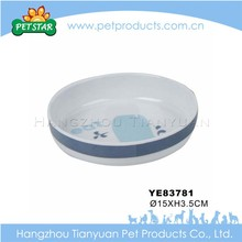 Cheap promotional portable travel bowl dog melamine