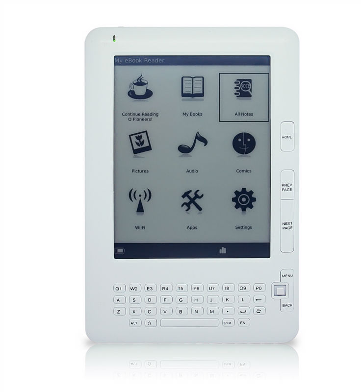 Linux Android PVI Panel HD Paperwhite ebook e-book reader E861