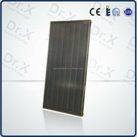 2016 hotel flat plate solar thermal collector price