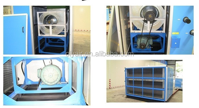 OlyAir Air conditioning system fresh AHU air handling unit, evaporative air cooler AHU
