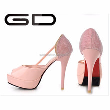 china factory wholesale pumps elegant women high heel shoes for wedding/office