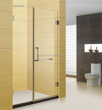new design glass room no frame shower screen,customised glass shower room