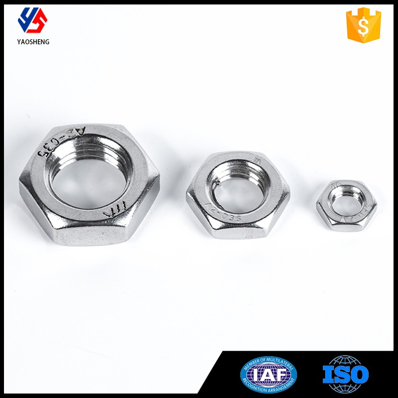 316 Stainless steel high strength wheel nut for automobile